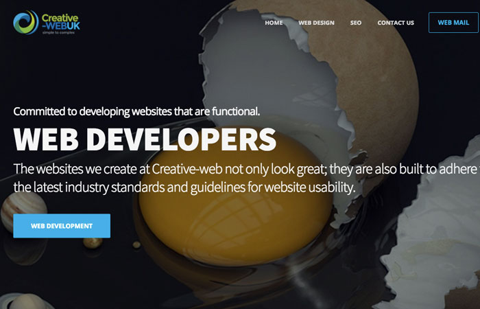 Creative-webuk - freelance web development